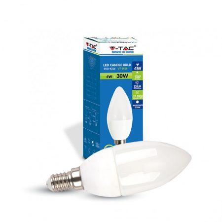 Bombilla LED E14 4w Luz atural 320Lm VELA